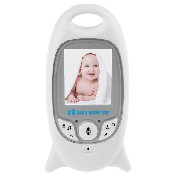 VB601 2.4G Wireless Video Baby Monitor Night Vision Two-way Talk LCD Display Temperature Monitoring Security Camera Monitor +B