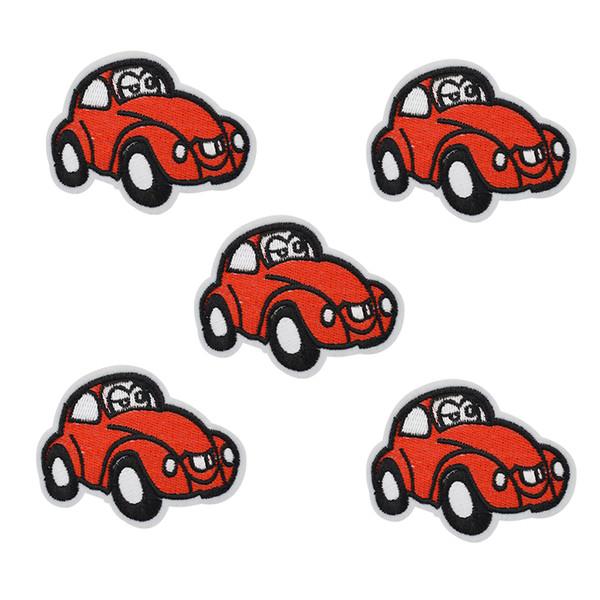 10 pcs voiture antique patchs badge pour vêtements fer brodé patch applique de fer sur les patchs couture accessoires pour vêtements de bricolage