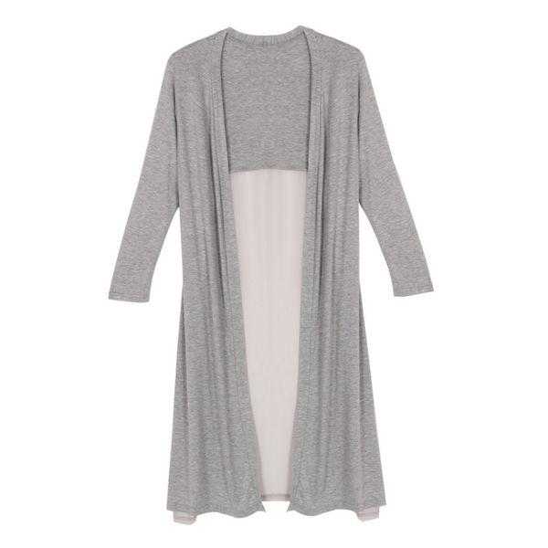 Wholesale- Lady Maxi Cardigan Feminino Sweater Coat Women Knitted Long Sleeve Vintage Oversized Sweaters Hot Selling
