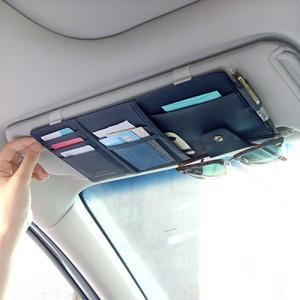 Asılı araba bitirme PU banka KARTLARı paketlerini almak muhtelif hazine çantası çok fonksiyonlu taşıma çantası