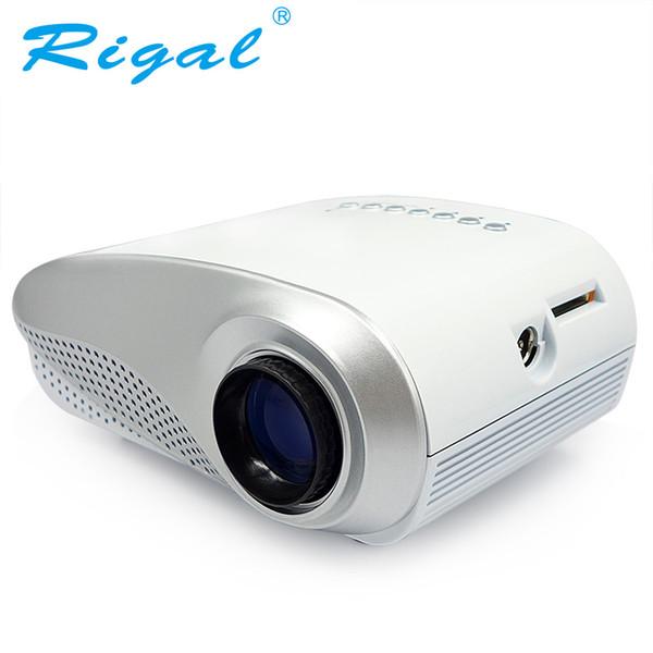 Proiettore Rigal Proiettore RD802 Classics LED MINI 200Lumens Beamer per Home Cinema Home Ingresso regalo Best HDMI USB VGA AV ATV