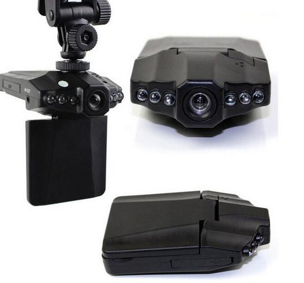 Caméra de tableau de bord H198 avec vision nocturne à 120 degrés angle de vue H198 VOITURE dvr enregistreur vidéo Livraison gratuite