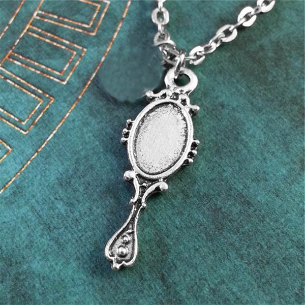 Once Upon A Time Snow White//Princess Inspiré Charme Collier Miroir Collier