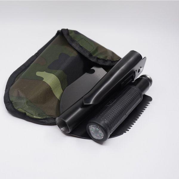 2Pcs/Lot New Multifunctional sapper Shovel Survival Portable Military Folding Camping Spade chinese military Shovel EDC Emergency Tool