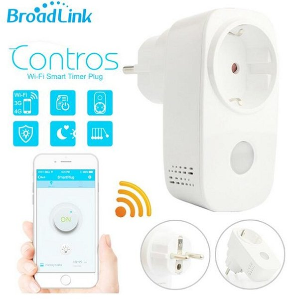 Broadlink Sp3 SP CC 16A + temporizador UE EE. UU. Mini toma de corriente wifi wifi Controles inalámbricos remotos inteligentes para iphone ipad Android