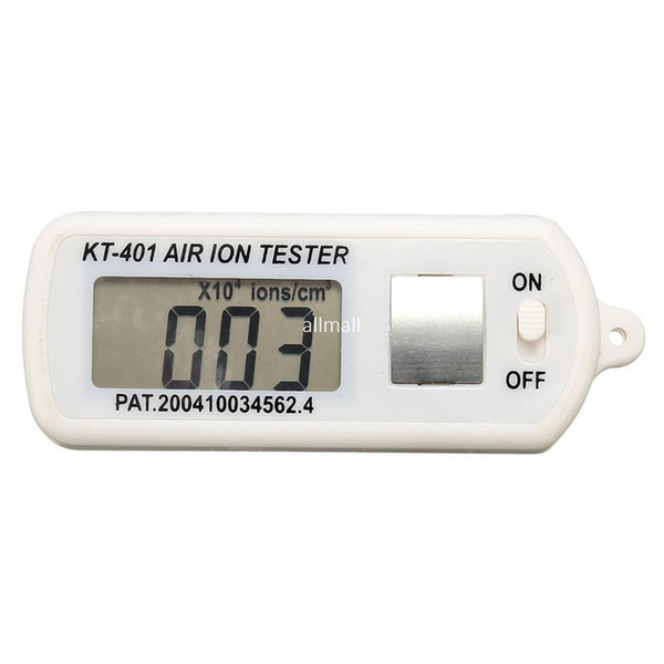 Freeshipping High Quality Air Ion Tester Meter Counter -Ve Negative Ions With For Peak Maximum Hold