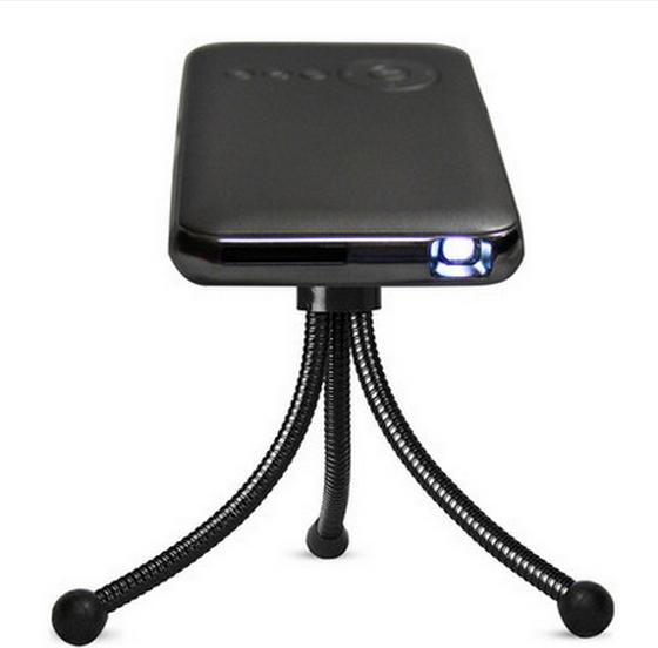 Toptan Satış - Toptan-M6 mini projektör android 4.4 kablosuz akıllı taşınabilir dizüstü, mini Cep Telefonu LED Cep pico mikro projektör projektörler