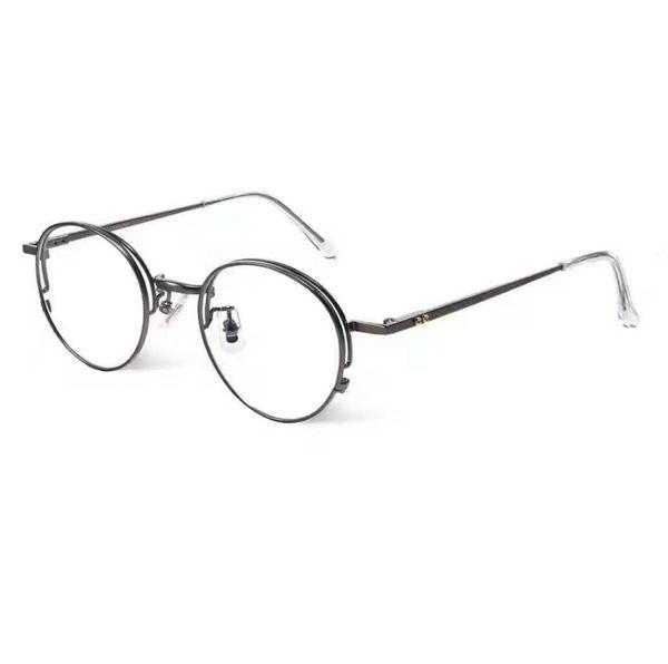 2018 Ee Vintage Round Glasses Frame For Men Women Round Glasses ...