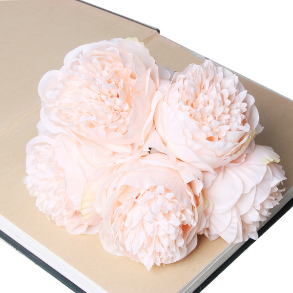 9cm high quality artificial Persian rose flower head simulation flower wall accessories silk cloth flower head clothing accessories wedding