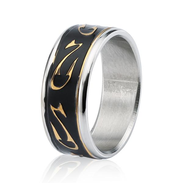Monili della fascia anello in acciaio inox argento superiore di modo Belle donne Mens Wedding Ring Scegli taglia 8 9 10 11 12 13 BJZ00225