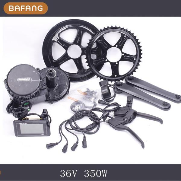 Bafang BBS01 36V 350W Ebike bicicleta eléctrica Motor 8fun kit de conversión de bicicleta eléctrica mid drive Fedex envío más rápido