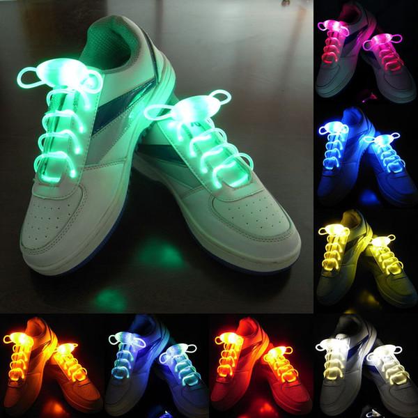 LED Schnürsenkel Schuh Schnürsenkel Blitz Leuchten Glow Stick Strap Schnürsenkel