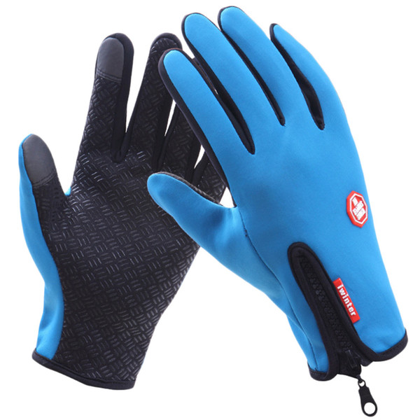 best selling Women Men M L XL Cycling Gloves Snowboard Gloves Motorcycle Riding Winter Touch Screen Snow Waterproof Glove Hot Sale