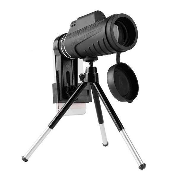 2017 Monoculars Telescope 8X40 Telescopio Astronómico Lupa 8X Zoom Lente de la Cámara Óptica HD Visión Nocturna a prueba de agua Profesional