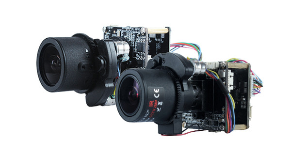 """Hik platform H.265 4.0MP 2.8-12mm Motorized Zoom & Auto Focus IP Camera Board 1/3"""" Omnivision OV4689 +Hi3516D with Cable"""