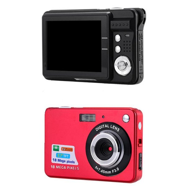 "Wholesale-2.7"" TFT LCD Display Digital Camcorder 18MP 720P 8x Zoom HD Digital Camera Camcorder Video Anti-shake high performance US Plug"