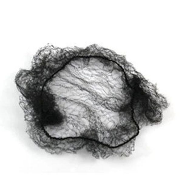 Capelli di alta qualità Nylon Hair Dance Recital Buns / Hair Extension Weaving Cap Nero Invisibile reti da coniglio Invisibilità retine per capelli