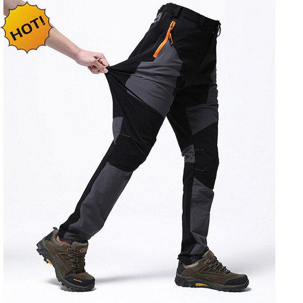 017 outdoor spring autumn tactical army camo cargo pants men waterproof stretch patchwork travel breathable uv trousers man thumbnail