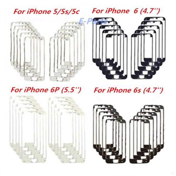 Hot frame IPhone per iPhone 5G 5S 5C 6 6P 6S 6sP Originla Nuovo Cornice per LCD Cornice centrale Cornice per digitizer con colla a caldo molto stabile !!!