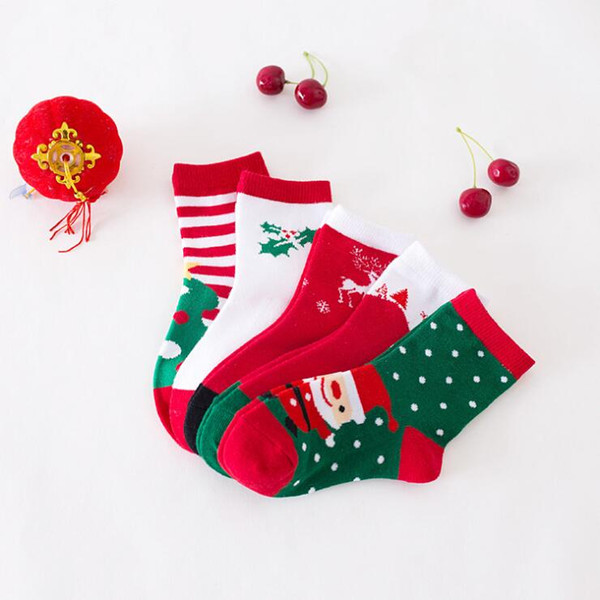 2019 Christmas Socks Christmas Gifts 2018 Wholesale Sports Socks Boys And Girls Cute Christmas Stockings For Kids High Quality From Youyi123 641