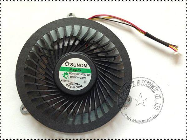 Großhandels-, Ventilator für LENOVO Y570 Y570A Y570N Y570P CPU-Ventilator DC5V 2W, nagelneues Y570 Y570A Laptop CPU Kühlerlüfter kühlt Gute Qualität