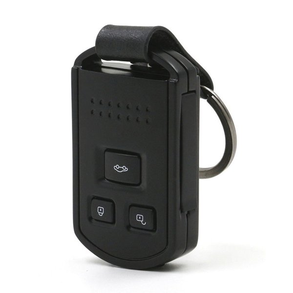 HD 1080P 12MP Car Key Camcorder Mini Car Keychain Camera With Night Vision Motion Detection Video Recorder Nanny Cam Portable Security DVR