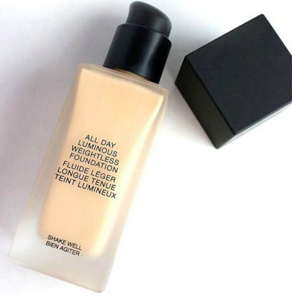 ll new Makeup Face And Body Foundation New Makeup All Day Luminous Weightless Foundation Liquid!30ml DHL free shipping