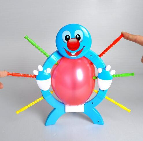 3pcs/lot Fun Boom Boom Balloon Poking Game Fun For Children Great Family Fun Toys Board Game 6*27*27cm Boxed Educational toys For kids