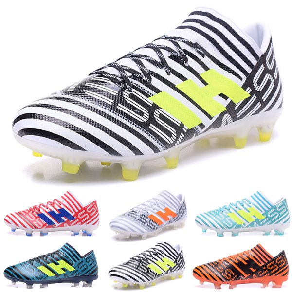New arrival NEMEZIZ 17.1 FG Men's Soccer Shoes Drop shipping High quality cheap Performance Male waterproof soccer cleats football boot