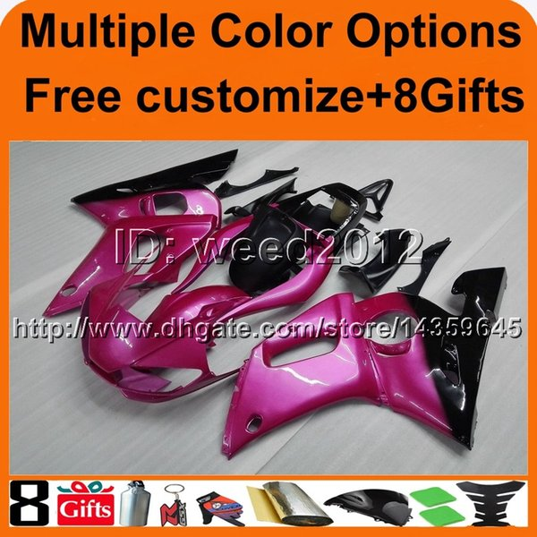 23colors+8Gifts Body motorcycle bodywork kit for Yamaha YZF-R6 1998-2002 98 99 00 01 02 YZFR6 1998 1999 2000 2001 2002 ABS fairing kit