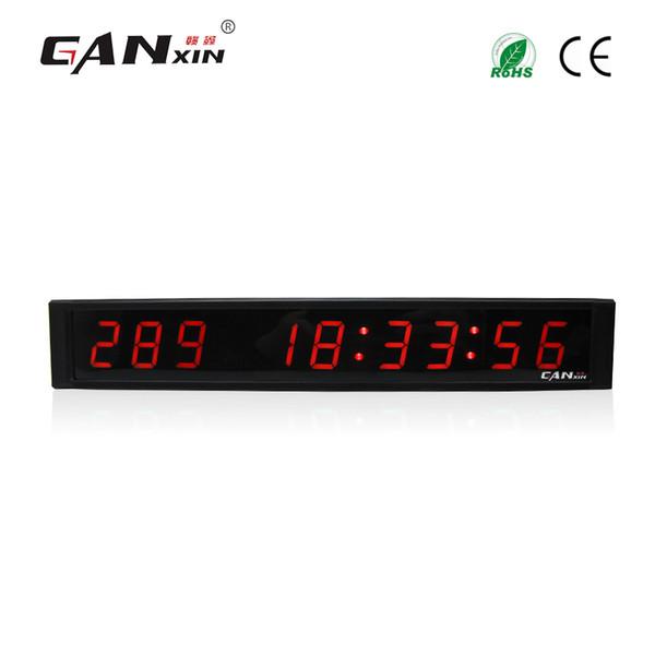 [Ganxin] 9 cifre LED da 1 pollici Ultra Luminosità Tubi Timer elettronico da giorno Timer da interno per display con telecomando senza fili