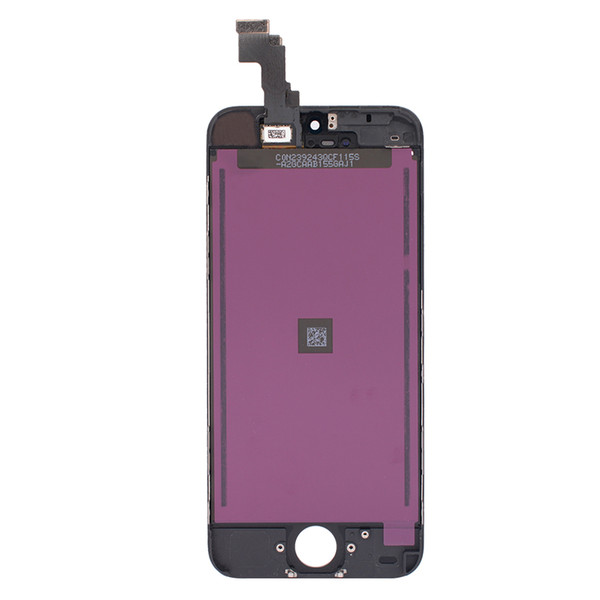 OEM quality LCD screen replacement For ecran iphone 5C LCD display digitizer assembly Free DHL shipping