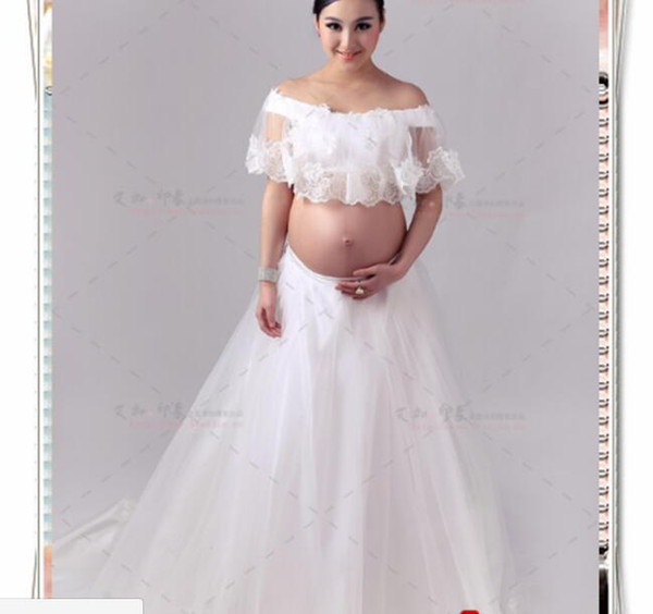 winter and autumn Maternity Photography Props Sexy Maternity Lace Dresses Fashion Pregnancy Dress Photo Shoot Maternity Dress Photography