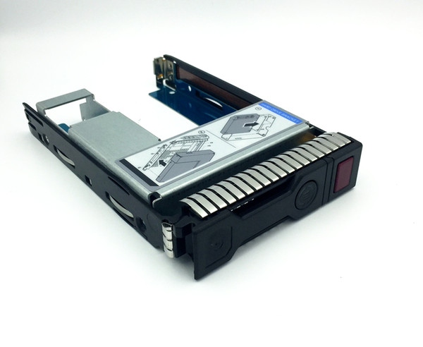 "HP G8/G9 2.5"" SSD TO 3.5"" SATA Converter Hard Drive Tray Caddy 651314-001+9W8C4"