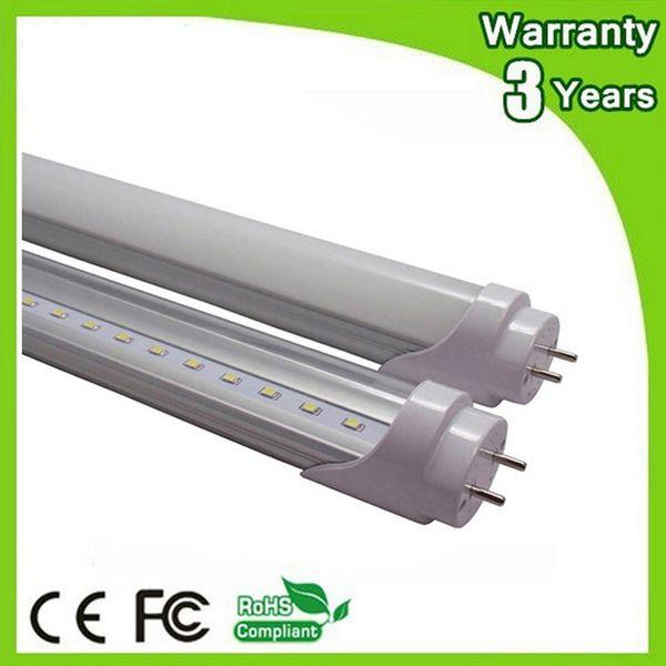 (50PCS / Lot) 85-265V 3 años de garantía CE RoHS G13 3ft 0.9m 14W 900mm LED Tubo T8 LED Lámpara fluorescente Luz fluorescente Luz diurna