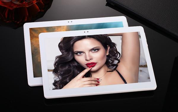 Tablet PC 10 pulgadas 4G LTE tablet Octa core 1920*1200 HD de 8.0MP 4 GB RAM 32 GB ROM Bluetooth GPS Android 6.0 tablet pc + Regalo