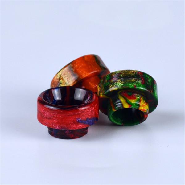 Puntali a goccia in resina epossidica più votati Tappi a boccaglio a foro largo per Goon 528 LP RDA Serbatoio atomizzatore DHL Free