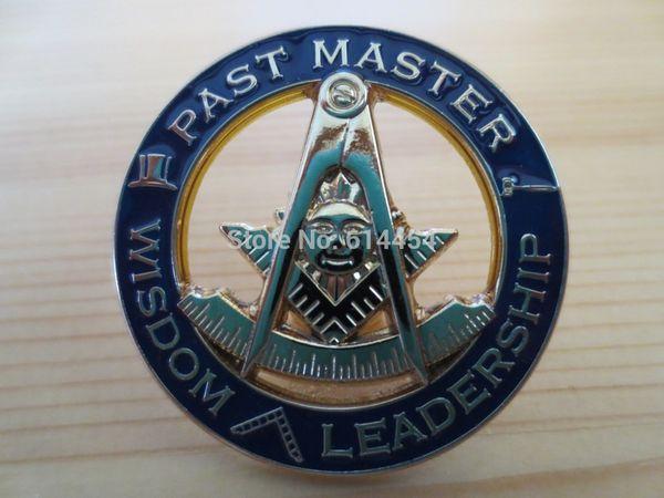 best selling Masonic Lapel Pins Badge Mason Freemason PAST MASTER WISDOM LEADERSHIP