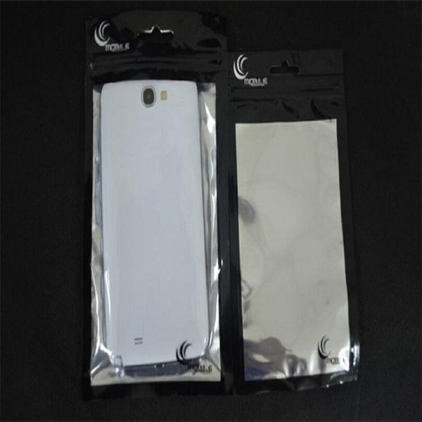 23*13.5 Zipper Plastic Retail Package Bag poly Packaging For Mobile Phone Case For Samsung Galaxy S7 Edge Note 7 5 NOTE4 S6 Iphone 6 6S Plus