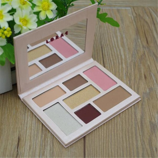 limited edition LORAC pink chapagne Eyeshadow highlighter blush bronzer Palette 7 Color Make up Free shipping