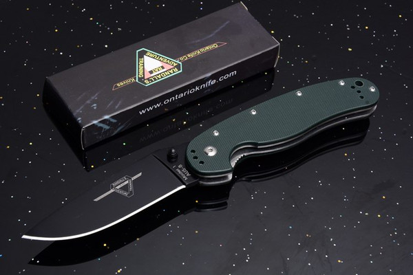 green handle Black blade