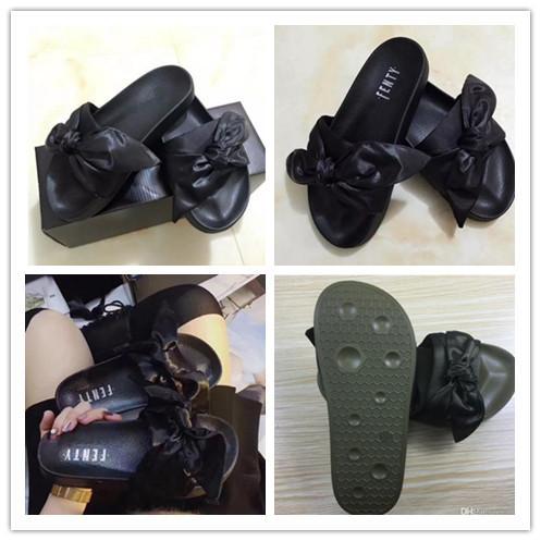 (Con scatola e sacchetti di polvere) Rihanna Fur Leadcat Fenty Scivoli Pantofole Donna Uomo Casa Inverno Slipper Home Scarpe Donna Calda Pantofole Alta qualità
