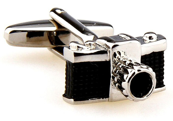 New Arrival 5pairs/lot Copper Cufflinks Camera Design Copper Material Men Accessaries Wholesale&Retail Free Shipping81625696