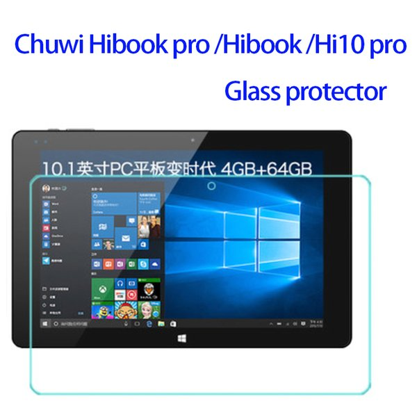 Film de protection d'écran en verre trempé en gros-en stock pour le film de verre trempé chuwi hibook pro / hibook / hi10 pro 10.1inch