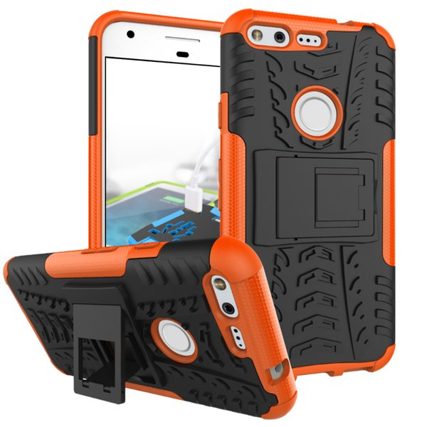 Dazzle Hybrid KickStand Impact Rugged Heavy Duty TPU+PC Shock Proof Cover Case FOR SAMSUNG GALAXY J120 J1 MINI J510 ON5 Google Pixel 50pcs/