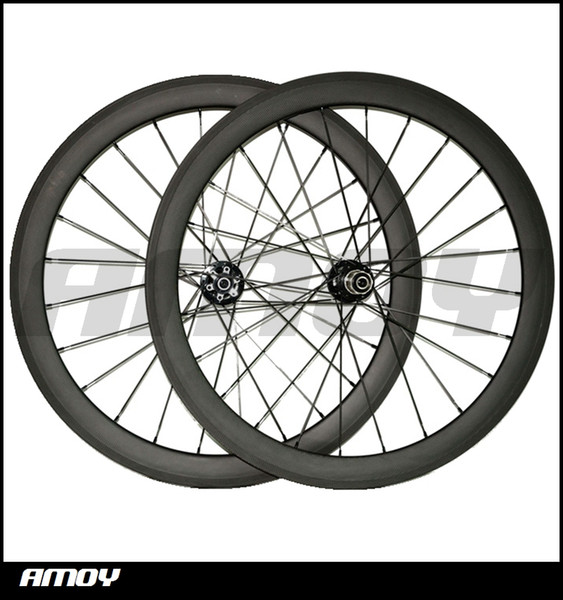 Hot sell, Disc 700C 50mm 25mm Clincher Carbon hookless asymmetric Wheelset Road Cyclocross Bike Bicycle Disc brake Hubs Wheels