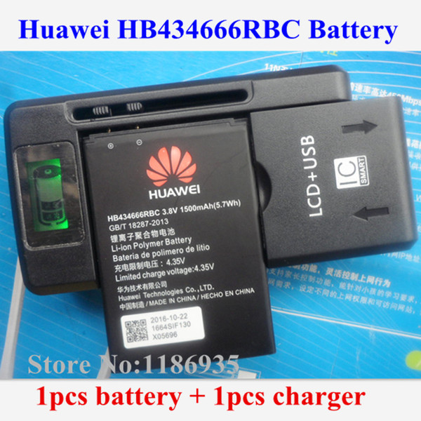 Acheter Vente En Gros Original HB434666RBC Batterie 1500mAh Pour Huawei  E5573 E5573S E5573s 32 E5573s 320 E5573s 606 E5573s 806 + Chargeur  Adaptateur