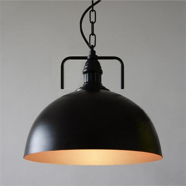 American Country Retro LOFT Pendelleuchten Vintage Industrielle Beleuchtung Hanglamp Hotel E27 Lampenfassungen Eisen Abajur