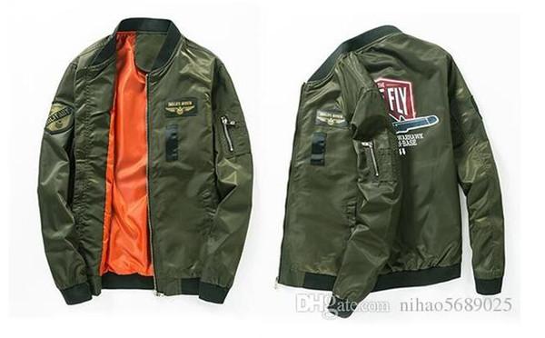 Ma1 Army Green Tactical Military varsity Flight Windbreaker ma1 yeezus Pilot US Air Force Bomber Jacket for Men Clothes kanye I FEEL LIKE P