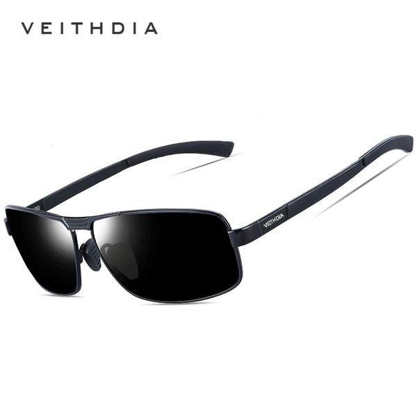 Veithdia Luxury Mens Retro Polarized Sunglasses Sports Driving Glasses Eyewear